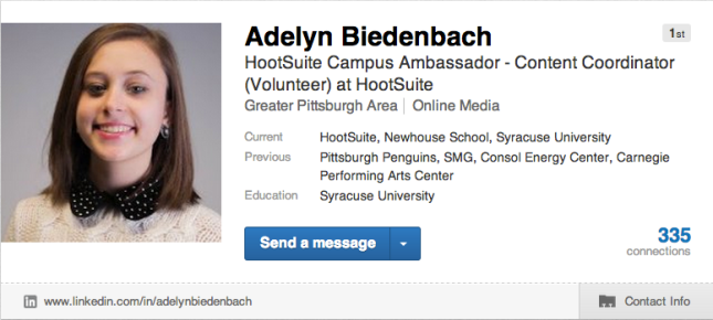 Adelyn LinkedIn