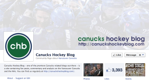 Canucks on Facebook